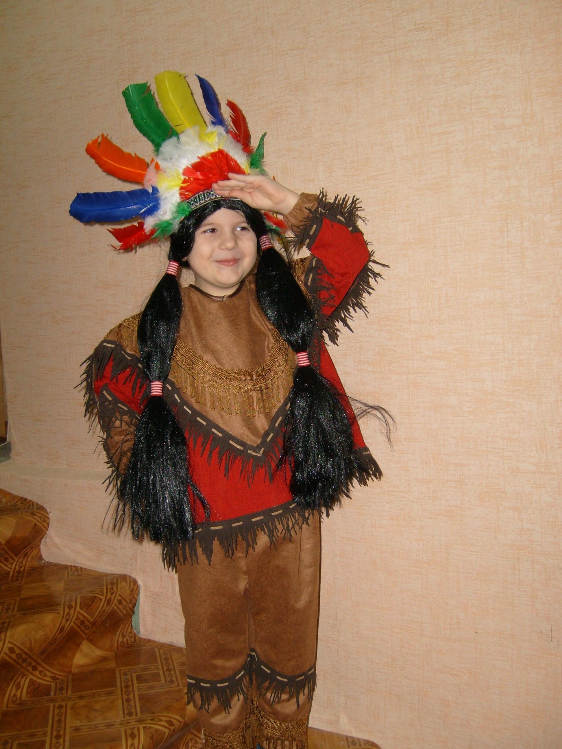 Костюм индейцев своими руками фото
